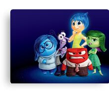 INSIDE OUT - TEAM 03 Canvas Print