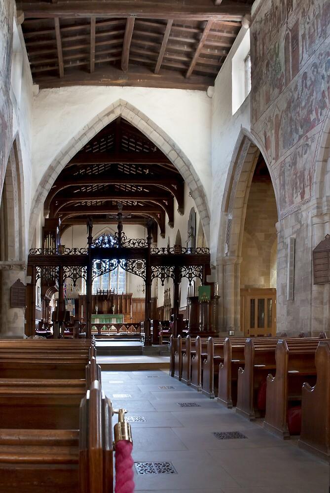 Pickering church, Yorkshire,UK (interior) by jasminewang