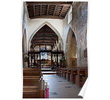Pickering church, Yorkshire,UK (interior) Poster