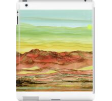 Desert Landscape of Natural Wonders iPad Case/Skin