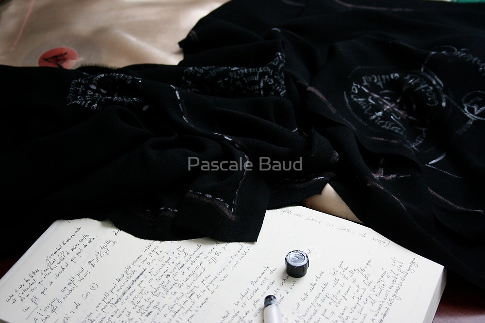 Work in progress -  by Pascale Baud