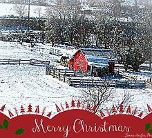 Christmas card by Donna Anglin Husband