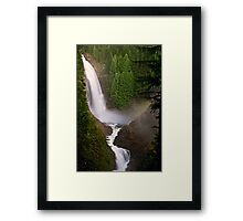 Middle Wallace Falls - Wallace Falls State Park, WA Framed Print