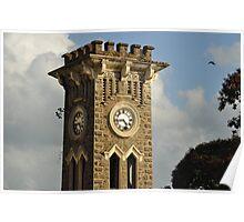 Old Clock Tower in Kurunagala, Sri Lanka Poster