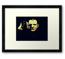 Lost highway - mystery man Framed Print