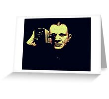 Lost highway - mystery man Greeting Card