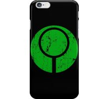 Marathon / Halo Symbol (Green) iPhone Case/Skin