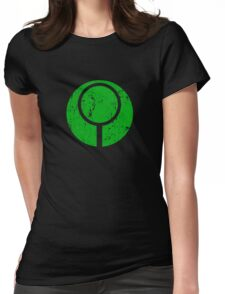 Marathon / Halo Symbol (Green) Womens Fitted T-Shirt