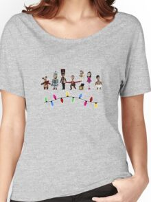 Stop Motion Christmas - Style E Women's Relaxed Fit T-Shirt