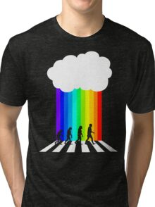 99 Steps of Progress - Psychedelia Tri-blend T-Shirt