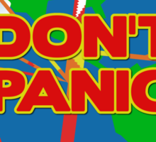 People of Earth, Don't Panic! Sticker