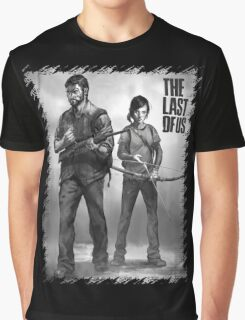 The Last of us Joel and Ellie Graphic T-Shirt