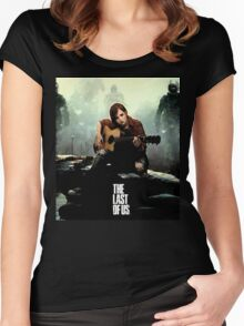The Last of us Grown Ellie Women's Fitted Scoop T-Shirt