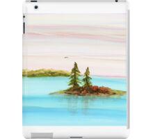 Evergreens on Teacup Island iPad Case/Skin
