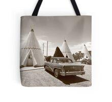 Route 66 Wigwam Motel Tote Bag