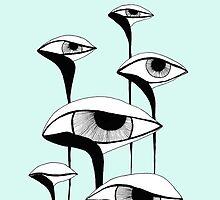 Sad Mashrooms by Aleksandra Kabakova