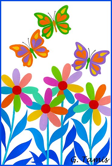 DREAMLAND FLOWERS by RainbowArt