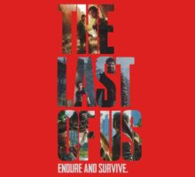 The Last of us Endure and survive Kids Clothes