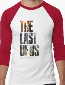 The Last of us Endure and survive Men's Baseball ¾ T-Shirt