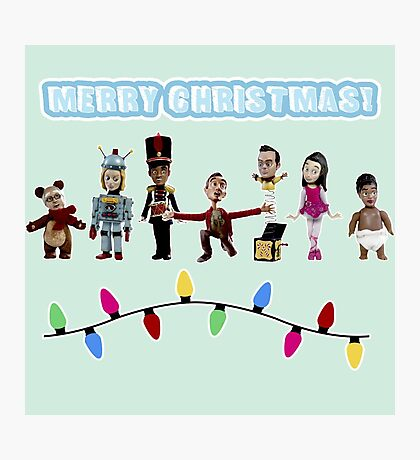 Stop Motion Christmas - Style H Photographic Print