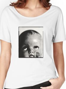 Baby Doll Head  Women's Relaxed Fit T-Shirt
