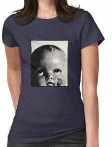 Baby Doll Head  Womens Fitted T-Shirt