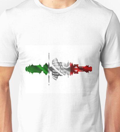 Rome city silhouette Unisex T-Shirt