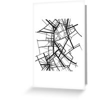 Suspension (Fractal scaffold #2) Greeting Card
