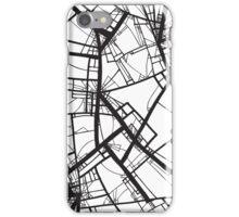 Suspension (Fractal scaffold #2) iPhone Case/Skin