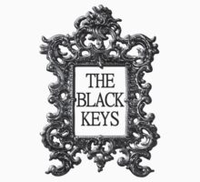 The Black Keys - Black Framed Poster by Accafella