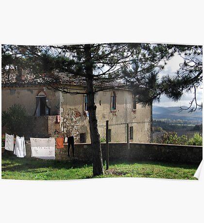 Good Morning Tuscany Poster
