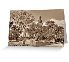 St. Matthew's Anglican Episcopal Church and Eastern Cemetery in Nassau, The Bahamas Greeting Card