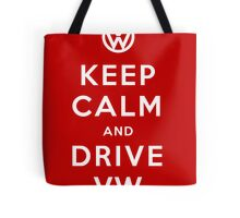 Keep Calm and Drive VW (Version 01) Tote Bag
