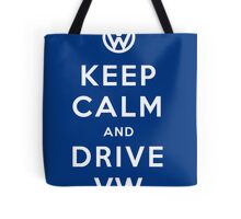 Keep Calm and Drive VW (Version 02) Tote Bag