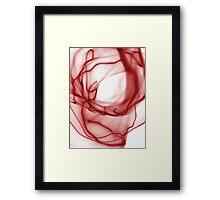 ©NLE Aureal Red I Framed Print