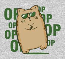 Gangnam Kitty One Piece - Long Sleeve
