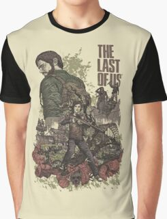 The Last Of Us Artwork Graphic T-Shirt