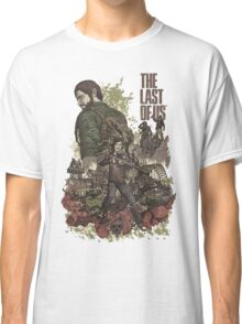 The Last Of Us Artwork Classic T-Shirt