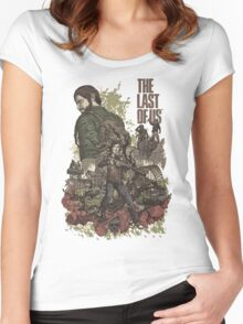 The Last Of Us Artwork Women's Fitted Scoop T-Shirt
