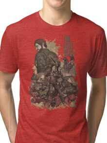 The Last Of Us Artwork Tri-blend T-Shirt