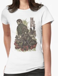 The Last Of Us Artwork Womens T-Shirt