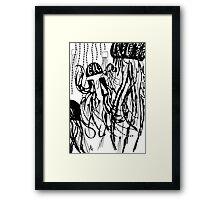 051 Framed Print