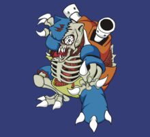 Zomblastoise by ThatsMyTrunks