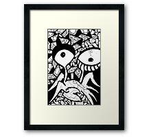053 Framed Print