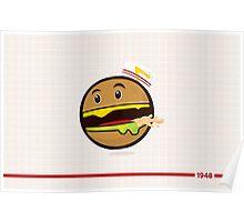Burger Animal  Poster