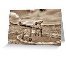 Fort Fincastle in Nassau, The Bahamas Greeting Card