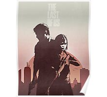 Joel and Ellie The Last of us Poster