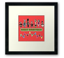 Stop Motion Christmas - Style G Framed Print