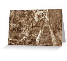 Queen's Staircase in Nassau, The Bahamas Greeting Card