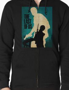 The Last Of Us Road to survival Zipped Hoodie